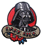 Loungefly Star Wars Darth Vader Dark Side Tattoo Art Embroidered Patch