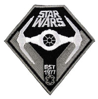 Loungefly Star Wars Darth Vader TIE Fighter EST 1977 Embroidered Patch