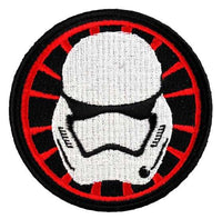 Loungefly Star Wars First Order Stormtrooper Helmet Embroidered Patch