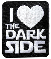 Loungefly Star Wars I Love The Dark Side Embroidered Patch