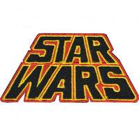 Loungefly Star Wars Logo Red and Yellow Embroidered Patch