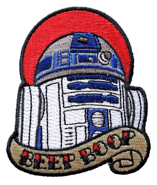 Loungefly Star Wars R2-D2 Beep Boop Tattoo Art Embroidered Patch