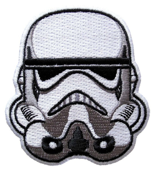 Loungefly Star Wars Stormtrooper Helmet Embroidered Patch
