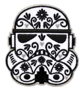 Loungefly Star Wars Stormtrooper Ornate Helmet Embroidered Patch