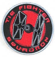 Loungefly Star Wars TIE Fighter Squadron Embroidered Patch