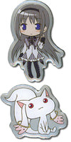 Madoka Magica Pin Set - Homura and Kyubey