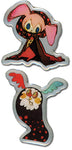 Madoka Magica Pin Set - Sweet Witch Set