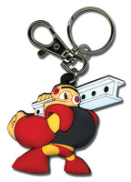 Mega Man Powered Up Keychain - Guts Man