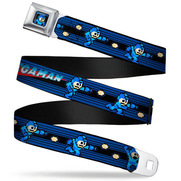 MEGAMAN 8-Bit Shooting Action Seatbelt Belt by Buckle-Down