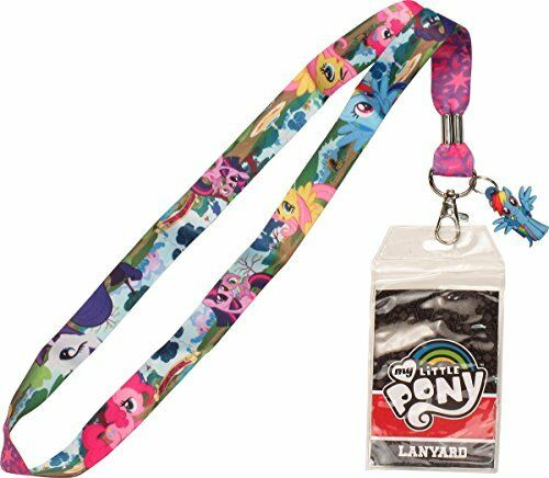 My Little Pony Lanyard with Rainbow Dash Charm