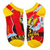 Megaman 5 Pk ankle socks