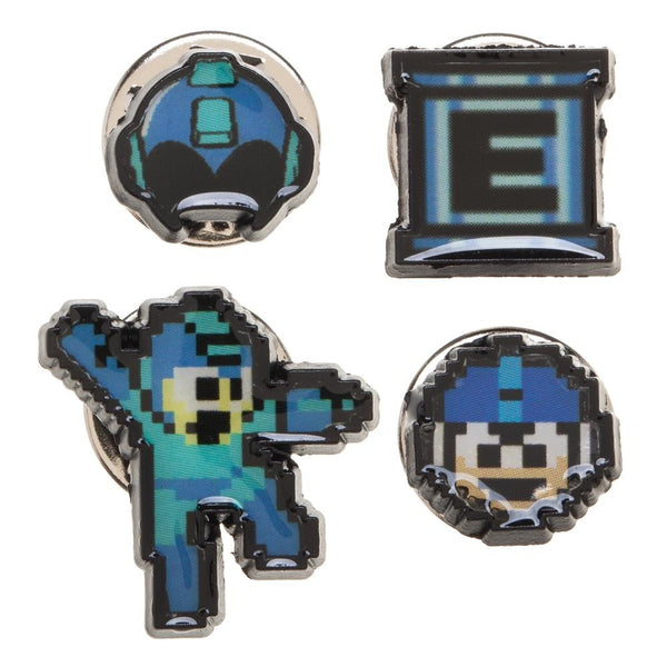 Mega Man Lapel pin set