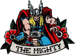 Loungefly Marvel The Mighty Thor Iron On Patch
