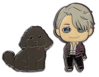 YURI ON ICE!!! - VICTOR & MAKKACHIN PINS