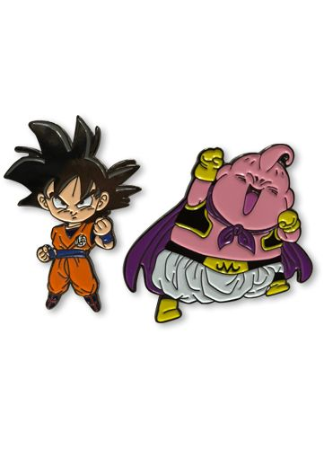 DRAGON BALL SUPER - GOKU & BUU PIN SET