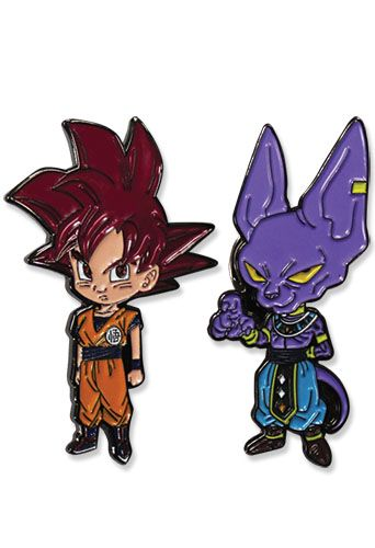 DRAGON BALL SUPER - GOKU & BEERUS PINS