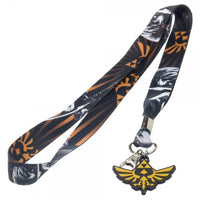 Zelda All Over Print Lanyard with Charm