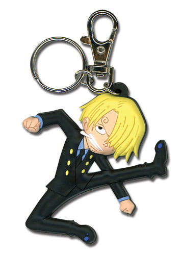 One Piece Keychain - Sanji Kick