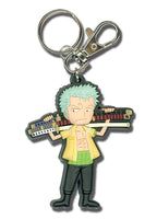 One Piece Keychain - Zoro Swords