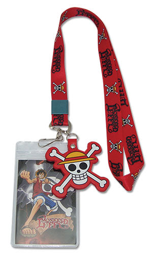 ONE PIECE - LUFFY LANYARD