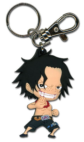 ONE PIECE - ACE PVC KEYCHAIN