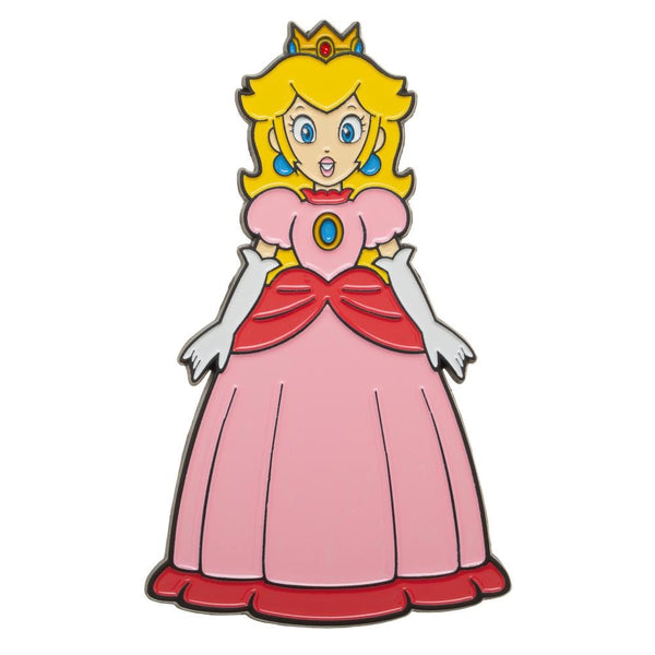 "Super Mario - Princess Peach Character 3"" Large Lapel Pin"