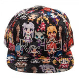 Re:Zero Sublimated Print Snapback with HD Print Logo