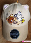 Rilakkuma Dad Hat with Ears