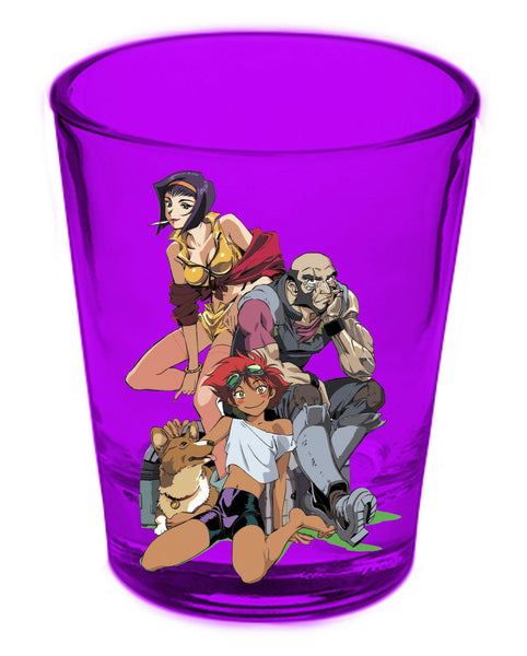 Cowboy Bebop Group Shot Glass