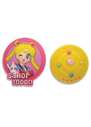 Sailor Moon Pin Set - Sailor Moon & Icon