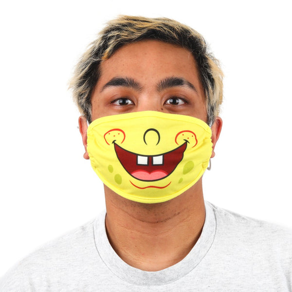 SpongeBob Adjustable Face Cover