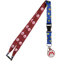 Super Mario Icons Lanyard