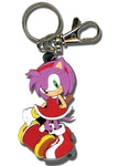 SONIC THE HEDGEHOG AMY ROSE PVC KEYCHAIN