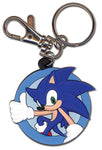SONIC THE HEDGEHOG PVC KEYCHAIN
