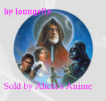 Star Wars 1 1/4 inch Button by Loungefly - A New Hope Group Collage