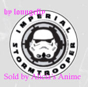 Star Wars 1 1/4 inch Button by Loungefly - Imperial Stormtrooper