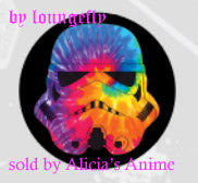 Star Wars 1 1/4 inch Button by Loungefly - Stormtrooper Helmet Colors