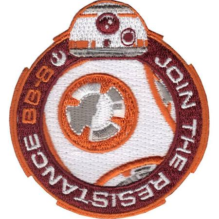 Star Wars BB-8 Join The Resistance Embroidered Patch