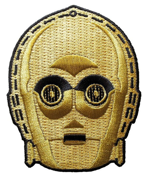 LOUNGEFLY STAR WARS C-3PO IRON-ON PATCH