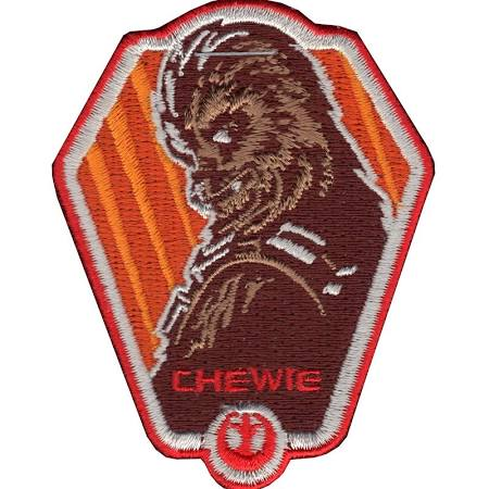 Star Wars Chewbacca 'Chewie' Embroidered Patch