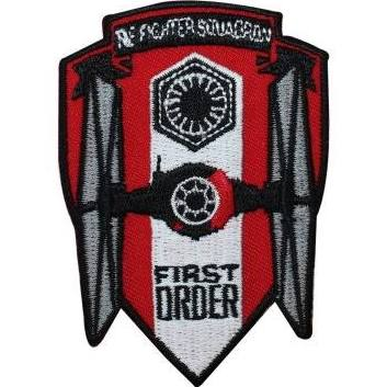 Star Wars First Order TIE Fighter Squadron Embroidered Patch