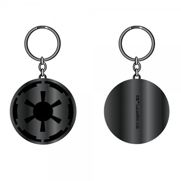Star Wars Imperial Black/Gunmetal Keychain