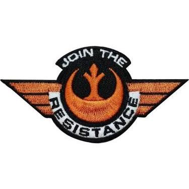 Star Wars Join The Resistance Embroidered Patch