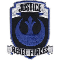 Star Wars Justice Rebel Forces Embroidered Patch