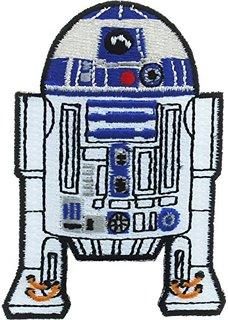 LOUNGEFLY STAR WARS R2-D2 IRON-ON PATCH