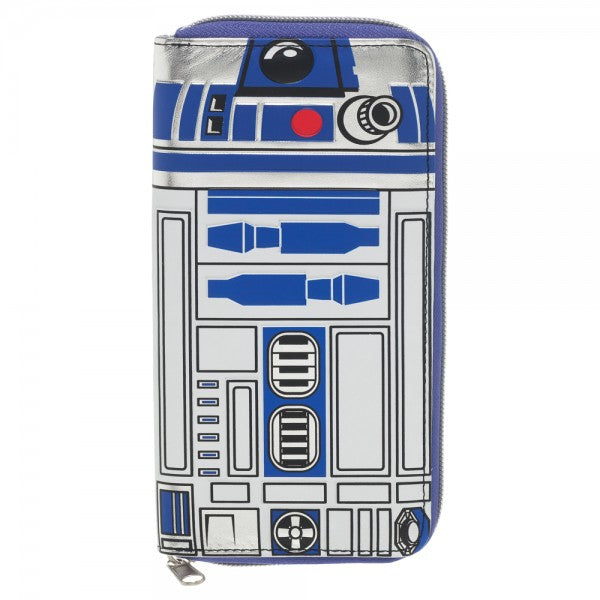 Star Wars R2-D2 Large Zip Around Wallet