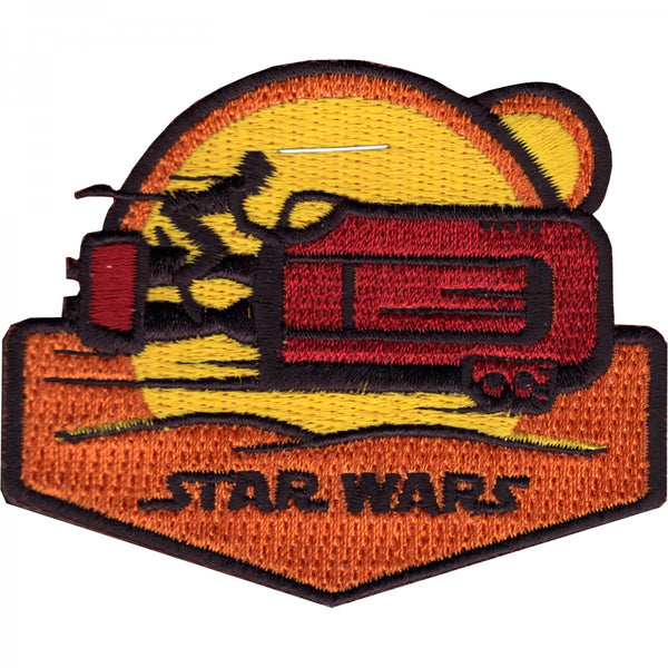 Star Wars Rey Speeder Sunset Patch