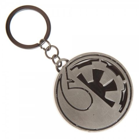 Star Wars Rogue One - Rebel/Empire Split Keychain