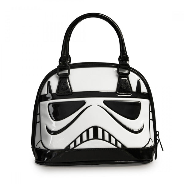 Star Wars Stormtrooper Patent Mini Dome Bag by Loungefly
