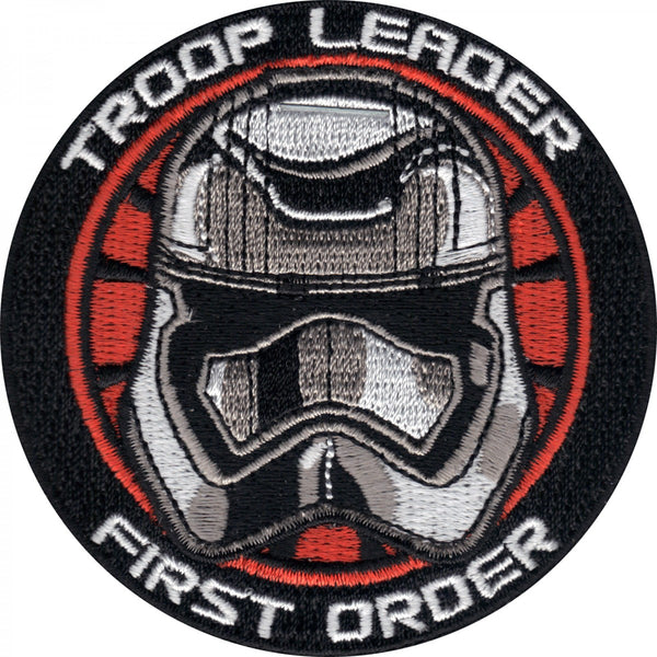 Star Wars Troop Leader First Order Embroidered Patch